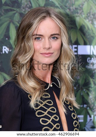 LONDON - JULY 06, 2016: Cressida Bonas attends the Serpentine Summer Party co-hosted by Tommy Hilfiger at the Serpentine Gallery on Jul 06, 2016 in London