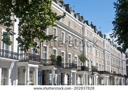 London: Kensington - stock photo