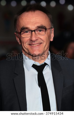 LONDON - OCT 18, 2015:  Danny Boyle attends the Steve Jobs premiere and closing night gala, 59th BFI London Film Festival at the Odeon Leicester Square on Oct 18, 2015 in London