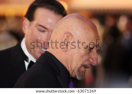 LONDON - OCT 11: Sir Ben Kingsley At The Never Let Me Go Premiere October 11, 2010 in Leicester Square London, England.