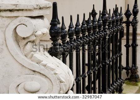 London Row - stock photo