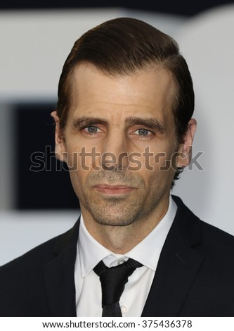 LONDON - SEP 3, 2015: Mel Raido attends Legend - UK film premiere on Sep 3, 2015 in London