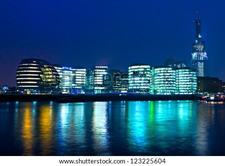 London Skyline London, UK - stock photo