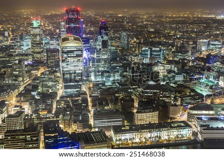 London,UK - stock photo