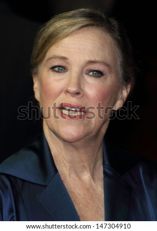 London, UK. Catherine O'Hara at the BFI London Film Festival Opening Gala screening of 'Frankenweenie 3D' at the Odeon Leicester Square. 10th October 2012. - stock photo