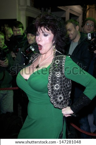 London, UK. Faith Brown  at 'Thriller Live' Opening Night, featuring the songs of Michael Jackson, at Lyric Theatre, Shaftesbury Avenue, in London. 21st January 2009.  - stock photo