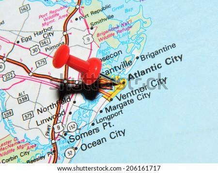 London Uk June 13 2012 Atlantic City New Jersey Us