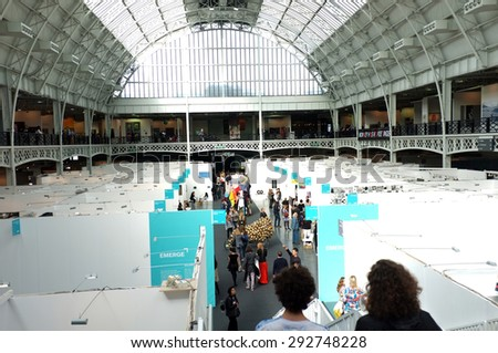 LONDON, UK, 22nd MAY, 2015: Art15, the third edition of London's global art fair, returns to Olympia in Kensington from May 21-23 with an impressive lineup of 150 galleries from 40 countries.