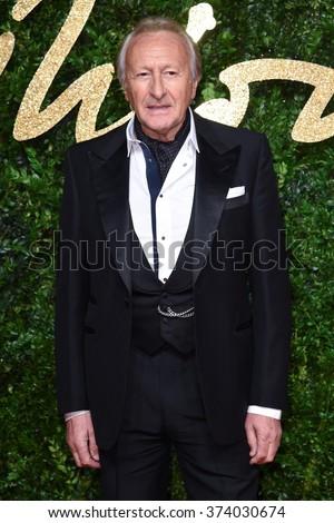 LONDON, UK - NOVEMBER 23, 2015: Harold Tillman at the British Fashion Awards 2015 at the Coliseum Theatre, London. November 23, 2015  London, UK Picture: Steve Vas / Featureflash - stock photo