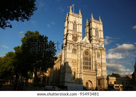 London, Westminster Abbey, UK - stock photo