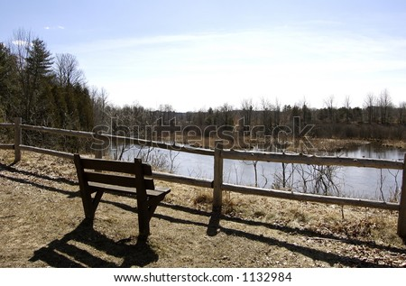 Lonely View - stock photo