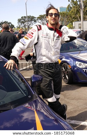 LONG BEACH - APR 1: Adrien Brody at the 37th Annual Toyota Pro/Celebrity Race Practice Day on April 1, 2014 in Long Beach, California