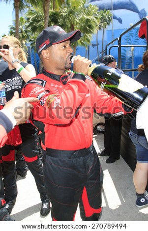 LONG BEACH - APR 18: Alfonso Ribeiro at the Toyota Grand Prix Of Long Beach Pro/Celebrity Race - Race Day on April 18, 2015 in Long Beach, California - stock photo
