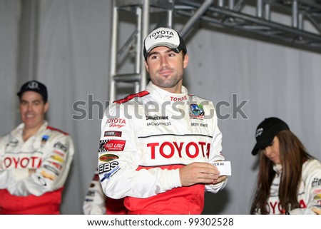 LONG BEACH, CA - APRIL 3: Brody Jenner at the 36th Annual 2012 Toyota Pro/Celebrity Race - Press Practice Day on April 3, 2012 in Long Beach, California