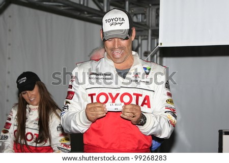 LONG BEACH, CA - APRIL 3: Eddie Cibrian at the 36th Annual 2012 Toyota Pro/Celebrity Race - Press Practice Day on April 3, 2012 in Long Beach, California