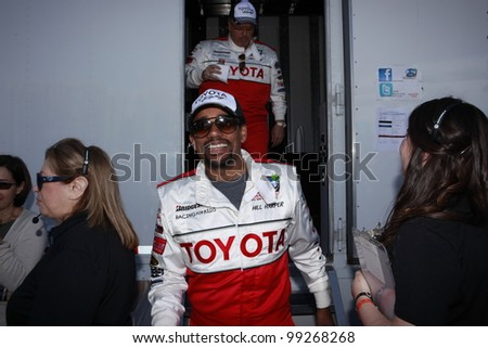 LONG BEACH, CA - APRIL 3: Hill Harper at the 36th Annual 2012 Toyota Pro/Celebrity Race - Press Practice Day on April 3, 2012 in Long Beach, California