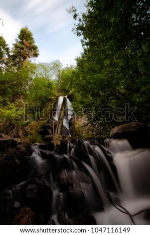 Photo Of Hunter Creek Waterfall Trail Reno Nv United States Dec 2016