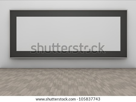 Delightful Long Frame In A Wall