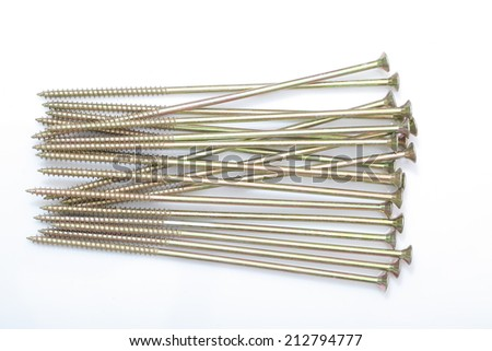 long galvanized screws