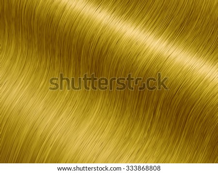 Long luxurious blond hair , Hair care and coloring - stock photo