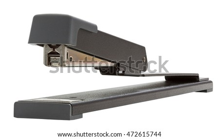 Long Reach Stapler isolated on white with clipping path