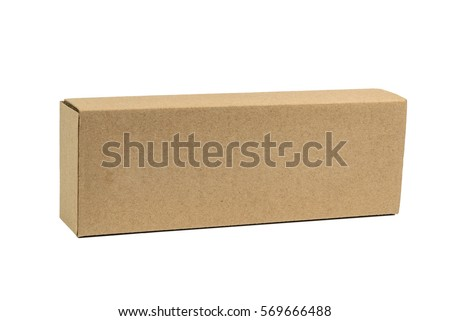 Cardboard Box Isolated Stock Images, Royalty-Free Images & Vectors ...