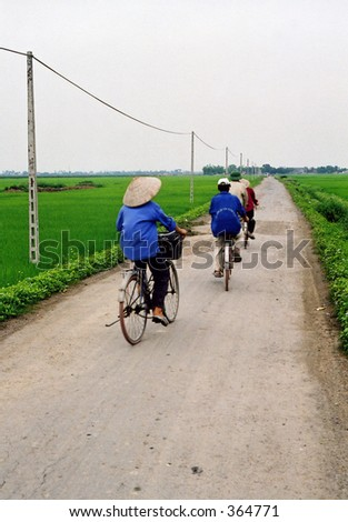 Long road home - stock photo