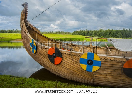 Viking Longboat Stock Images, Royalty-Free Images & Vectors ...