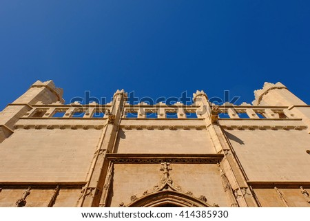 Lonja,Palma de Mallorca,Spain - stock photo