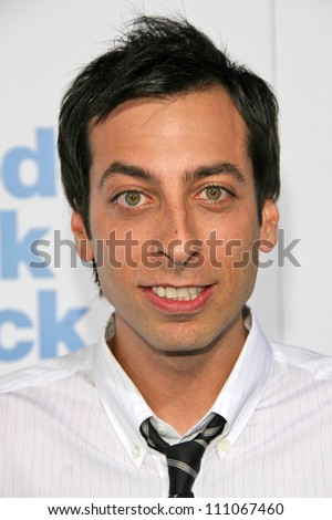"""Lonny Ross at the Los Angeles Premiere of """"Good Luck Chuck"""". Mann National Theater, Westwood, CA. 09-19-07 - stock photo"""