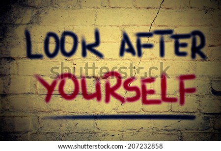 Look After Yourself Concept - stock photo