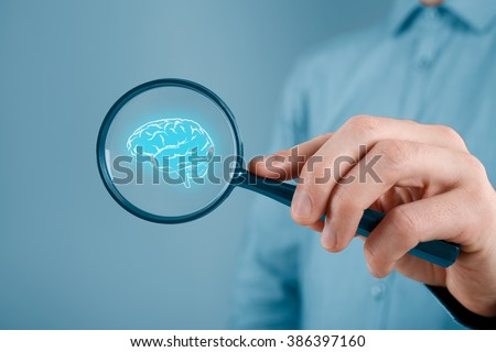Looking for creative idea for your business, business vision and headhunter concepts.