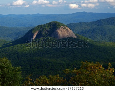 looking glass rock - stock photo