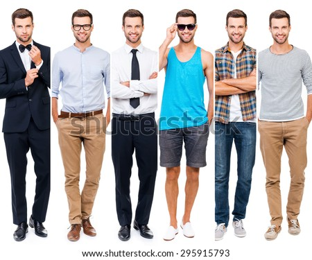 Office wear stock images royalty free images vectors Different fashion style groups