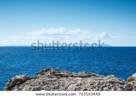 Cabo De Baños Menorca | Can Picafort Stock Images Royalty Free Images Vectors