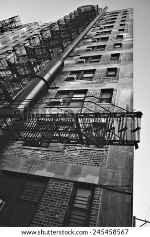 Chicago Architecture Black And White chicago architecture black and white
