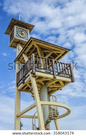 Lookout - stock photo