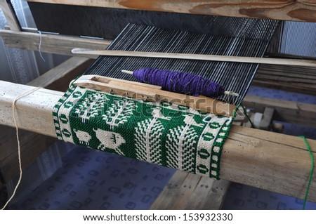 looms - stock photo