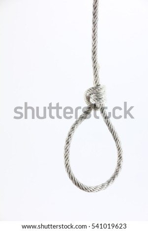 loop Rope on a white background