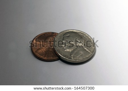 Loose Change - stock photo