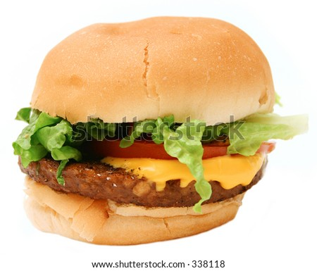 Lop-sided veggie burger