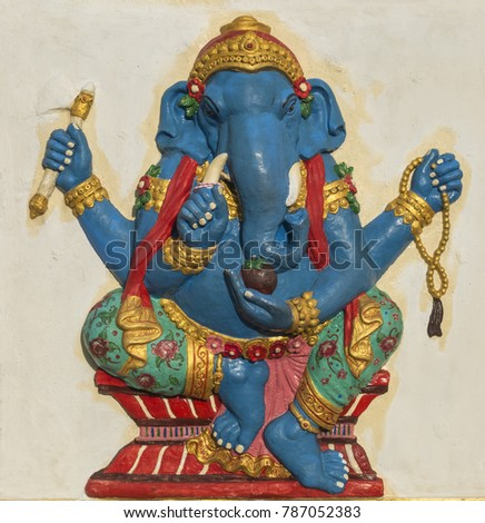 Lord Ganesha Religious Symbol Stock Photo Safe To Use 787052383