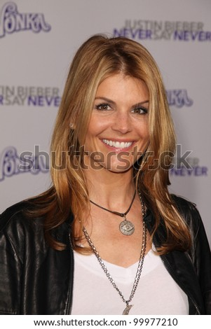 "Lori Loughlin at the ""Justin Bieber: Never Say Never"" Los Angeles Premiere, Nokia Theater, Los Angeles, CA. 02-08-11"
