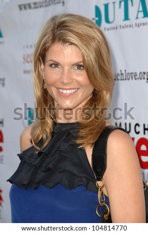Lori Loughlin at the 3rd Annual Bow Wow 'Wow Hollywood' Gala. The Lot, Hollywood, CA. 08-22-09
