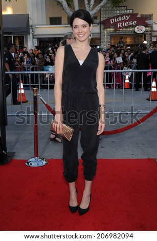 "LOS ANGELES - APR 13:  Ali Cobrin arrives to the ""Neighbors"" World Premiere  on April 28, 2014 in Westwood, CA.                 - stock photo"