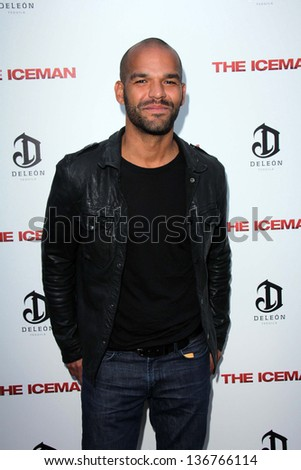 "LOS ANGELES - APR 22:  Amaury Nolasco arrives at ""The Iceman"" Premiere at the ArcLight Hollywood Theaters on April 22, 2013 in Los Angeles, CA"