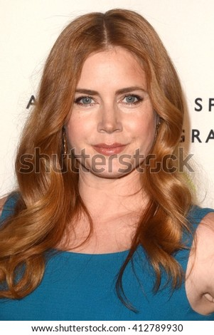 LOS ANGELES - APR 21:  Amy Adams at the Annenberg Space for Photography presents REFUGEE at the Annenberg Space for Photography on April 21, 2016 in Century City, CA - stock photo