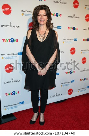 LOS ANGELES - APR 10:  Amy Grant at the Kaleidoscope Ball at Beverly Hills Hotel on April 10, 2014 in Beverly Hills, CA - stock photo