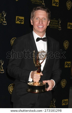 LOS ANGELES - APR 26:  Bradley Bell at the 2015 Daytime Emmy Awards at the Warner Brothers Studio Lot on April 26, 2015 in Los Angeles, CA