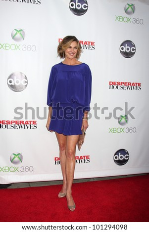 "LOS ANGELES - APR 29:  Brenda Strong arrives at the ""Desperate Housewives"" Wrap Party at W Hollywood Hotel on April 29, 2012 in Los Angeles, CA"